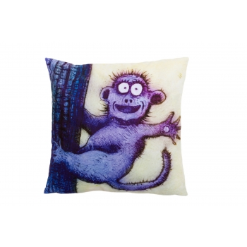 NDecorative, accent & throw pillow: Happy ape.jpg
