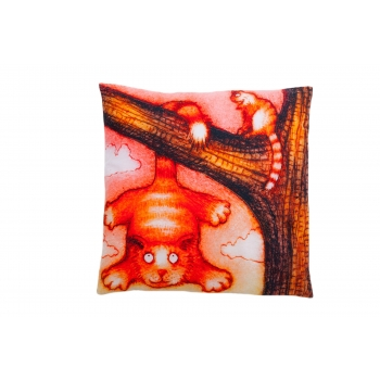 Decorative, accent & throw pillow: Learn, sonny!  (frontside).jpg