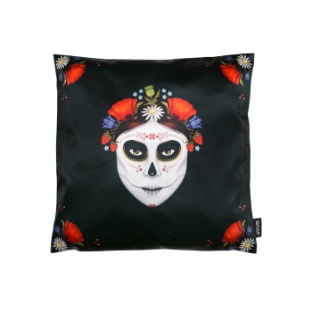 Dia de Muertos Decorative pillow Lucky Son of a Bitch1.jpg