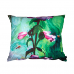 Decorative, accent & throw pillow Bees & Wildflowers from Mike Morehouse Collection
