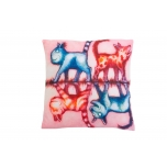 Decorative, accent & throw pillow: The second lesson of reflection.